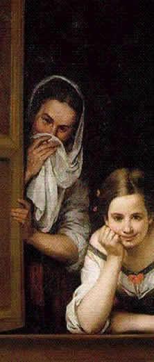 Storia della canzone italiana fenesta vascia for Ragazza alla finestra quadro