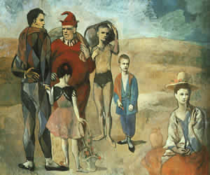 Pablo Picasso, Family of Saltimbanques, 1905, National Gallery of Art, Washington D.C