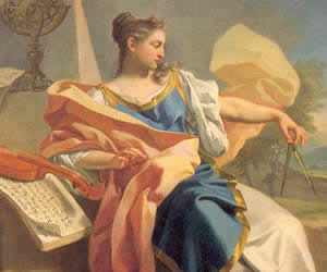 Francesco de Mura, Allegory of the Arts 1750 Oil on canvas Musée du Louvre, Paris