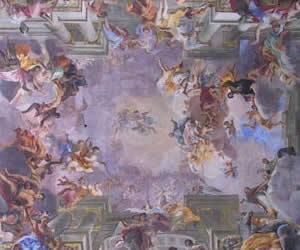 Andrea Pozzo, Roma, S. Ignazio di Loyola, Volta della navata centrale (1691-1694)