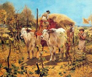 Giovanni Fattori, Raccolta del fieno in Maremma