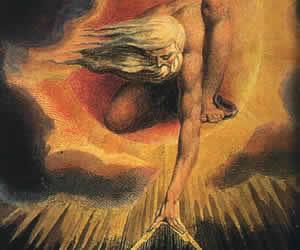 William Blake, Dio come architetto, illustrazione (1794)