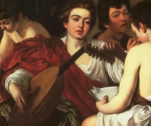 Caravaggio, Concerto (1595), Metropolitan Museum of Art a New York